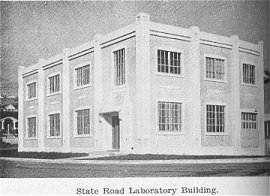 State Road Laboratory Building (Road Commission Annual Report)
